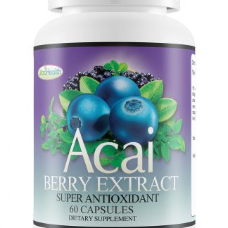 Acai berry capsule extract