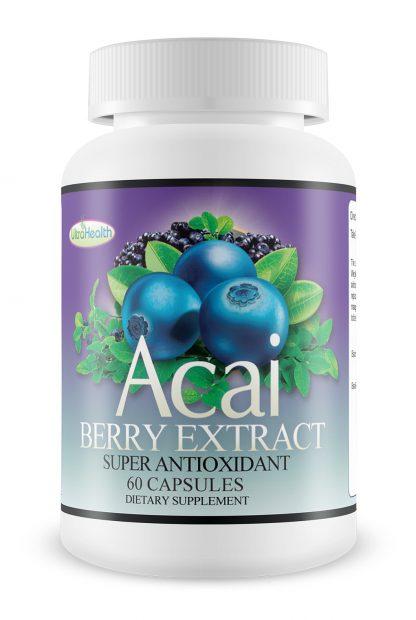 Acai berry capsule extract